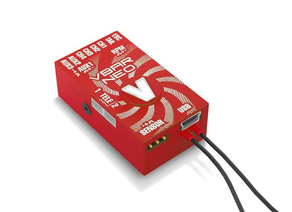 VBar NEO Alu-case, red, VLink 6 x Express
